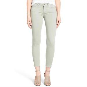 Paige Verdugo Ultra Skinny Jeans (lemongrass)